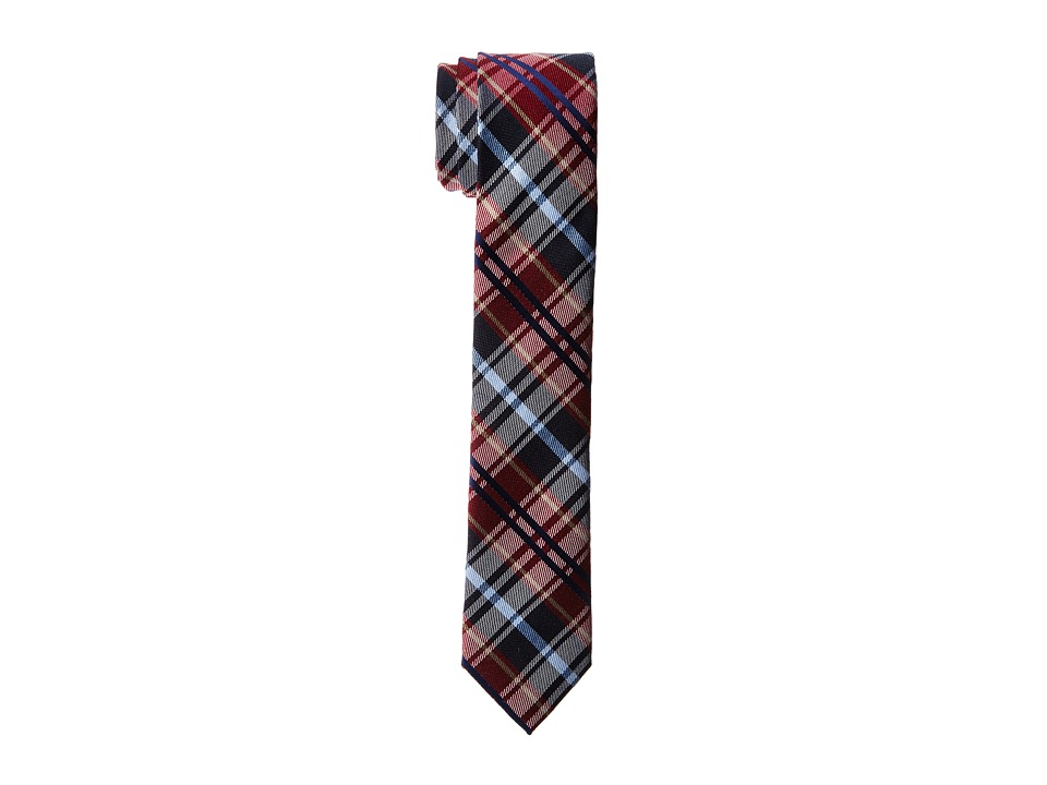 Original Penguin - Salt Plaid Tie (Red) Ties