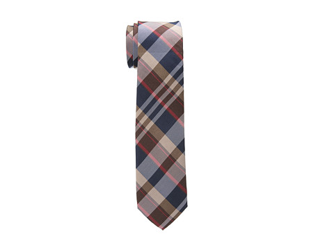 Original Penguin - Tuttle Plaid Tie (Brown) Ties