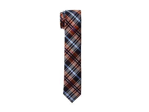 Original Penguin - Salt Plaid Tie (Cognac) Ties