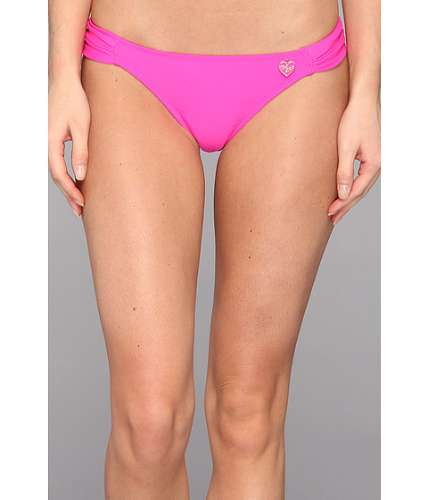 Body Glove - Smoothies Bali Side Ruched Bottom (Hot Pink) Women