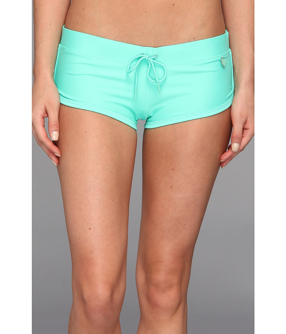 Body Glove - Smoothies Sidekick Sporty Swim Short (Lagoon) Women's Swimwear