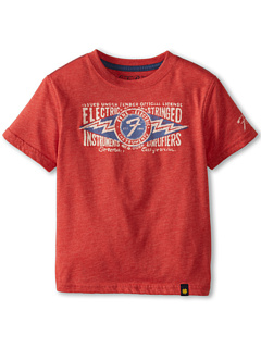 SALE! $15.98 - Save $6 on Lucky Brand Kids Fender Electric Stringed Tee (Toddler) (Poppy Heather) Apparel - 27.36% OFF $22.00