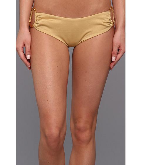 Body Glove - Red Carpet Sweetheart Low Rise Boy Leg Bottom (Gold) Women