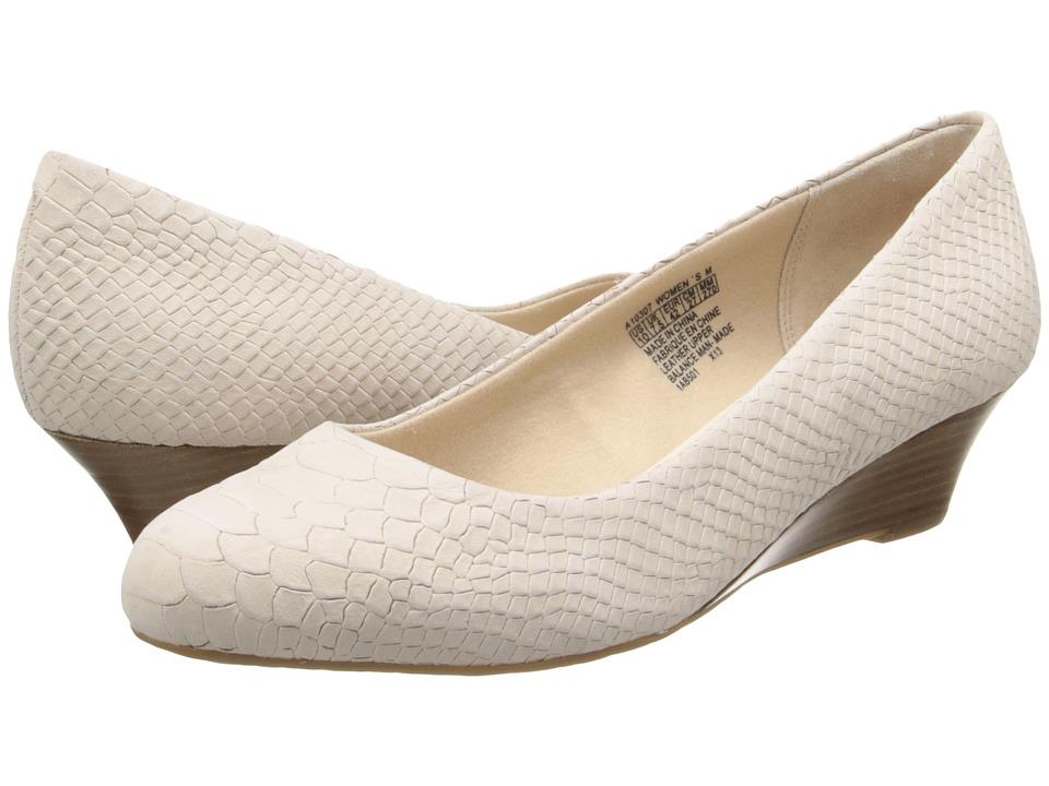 Rockport - Alika Pump (Bleached) Women's 1-2 inch heel Shoes plus size,  plus size fashion plus size appare