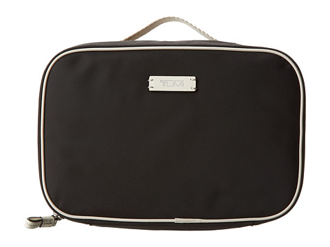 Tumi - Voyageur Lima Travel Toiletry Kit (Black/White) Toiletries Case