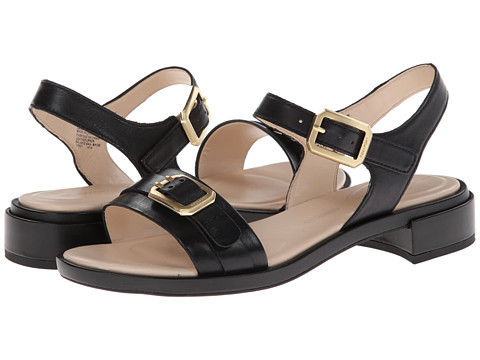 Rockport - Racheline Buckle Ankle Strap (Black) Women's Sandals