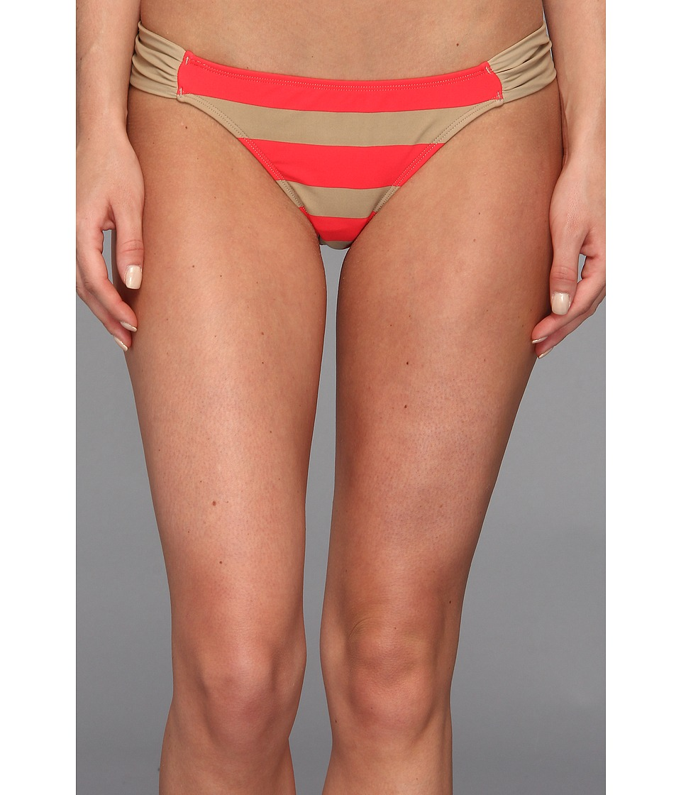 Body Glove - Straightaway Bali Bottom (Scarlet Red) Women's Swimwear