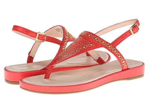 Rockport - Jaeliah Stud Thong (Poppy Red) Women's Sandals