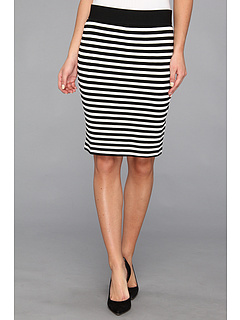SALE! $26.99 - Save $41 on Karen Kane Stripe Pencil Skirt (Stripe) Apparel - 60.31% OFF $68.00