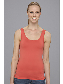 SALE! $14.99 - Save $25 on Karen Kane Super Soft Tank (Salmon) Apparel - 62.53% OFF $40.00