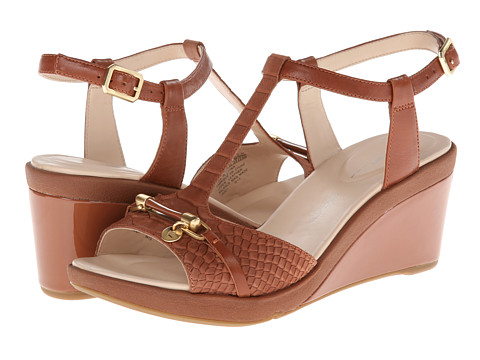 Rockport - Emmalina Charm T Strap (Mocha Bis) Women's Sandals