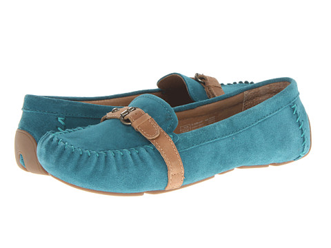 Ariat - Free Rein (Aqua Suede) Women's Slip on Shoes