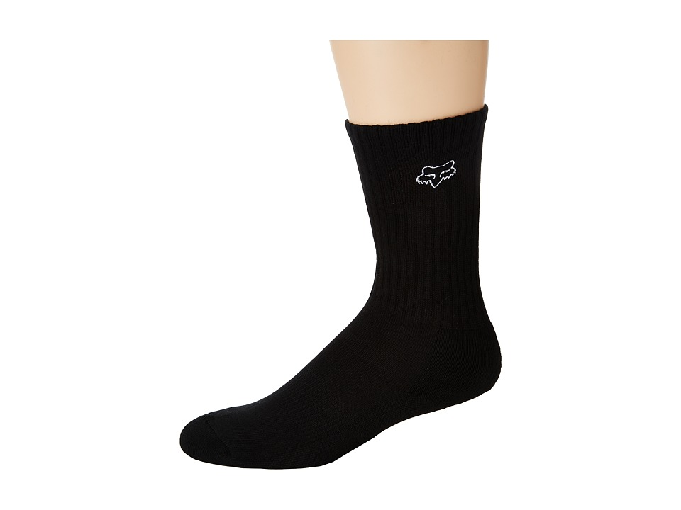 Fox - Fox Crew Sock (Black) Men's Crew Cut Socks Shoes
