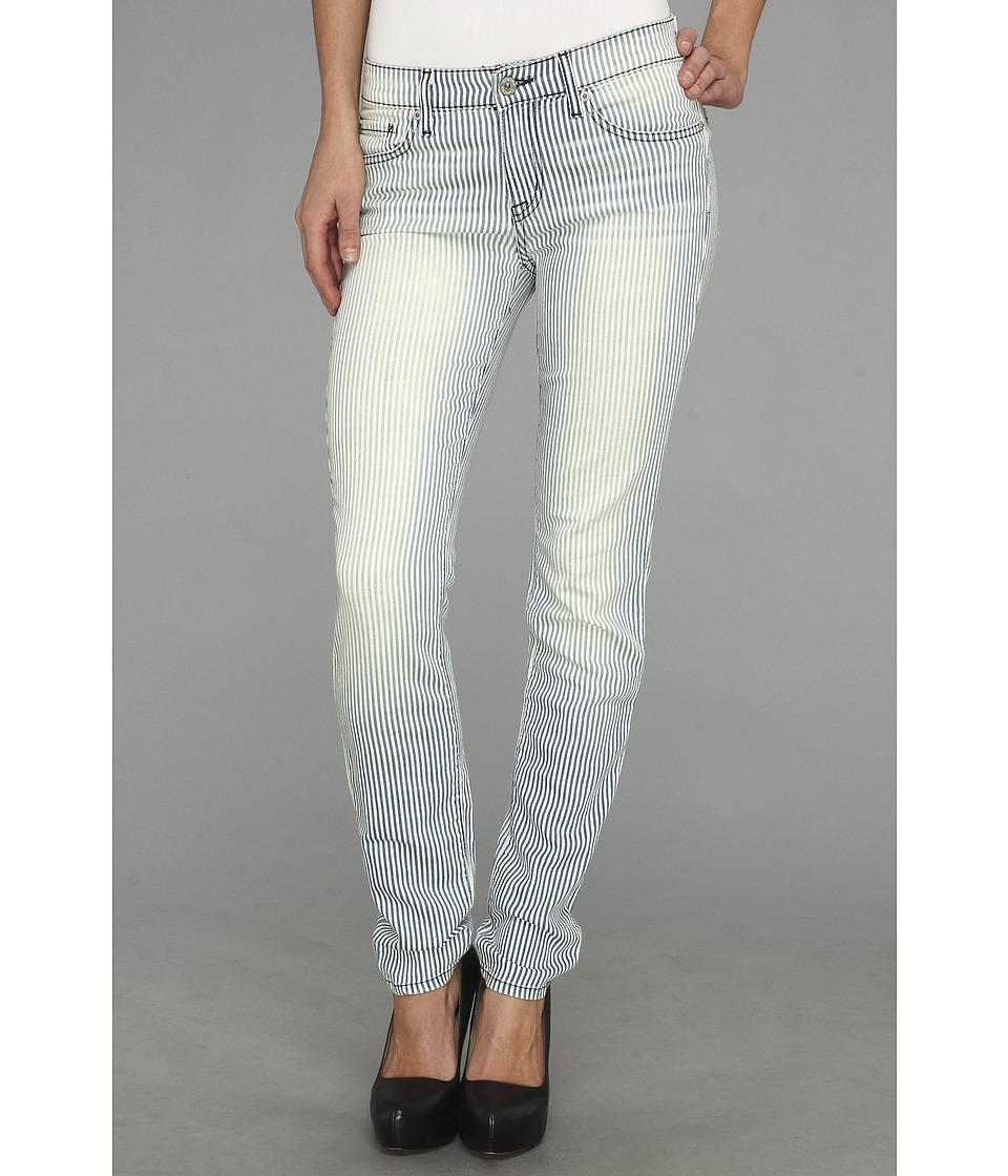 BB Dakota - Khloe Skinny in Lattice (Striped Blue) Women's Jeans