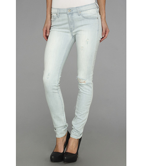 BB Dakota - Khloe Skinny in Lattice (Salt) Women