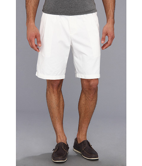 Dockers Men's - D3 Classic Fit Double Pleat Short (White Cap) Men's Shorts
