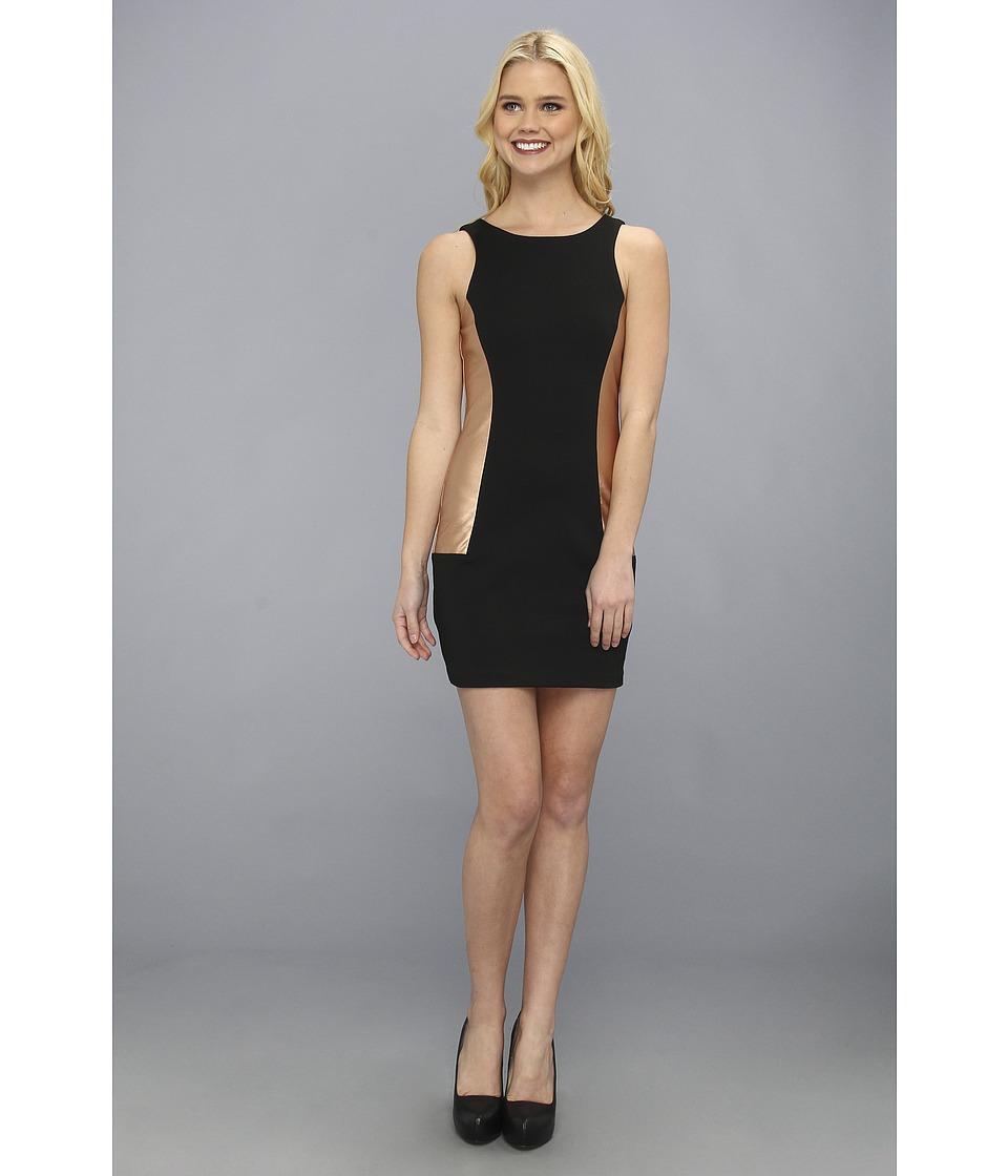 BCBGeneration - Side Insert Dress (Black) Women
