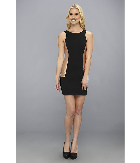 BCBGeneration - Side Insert Dress (Black) Women