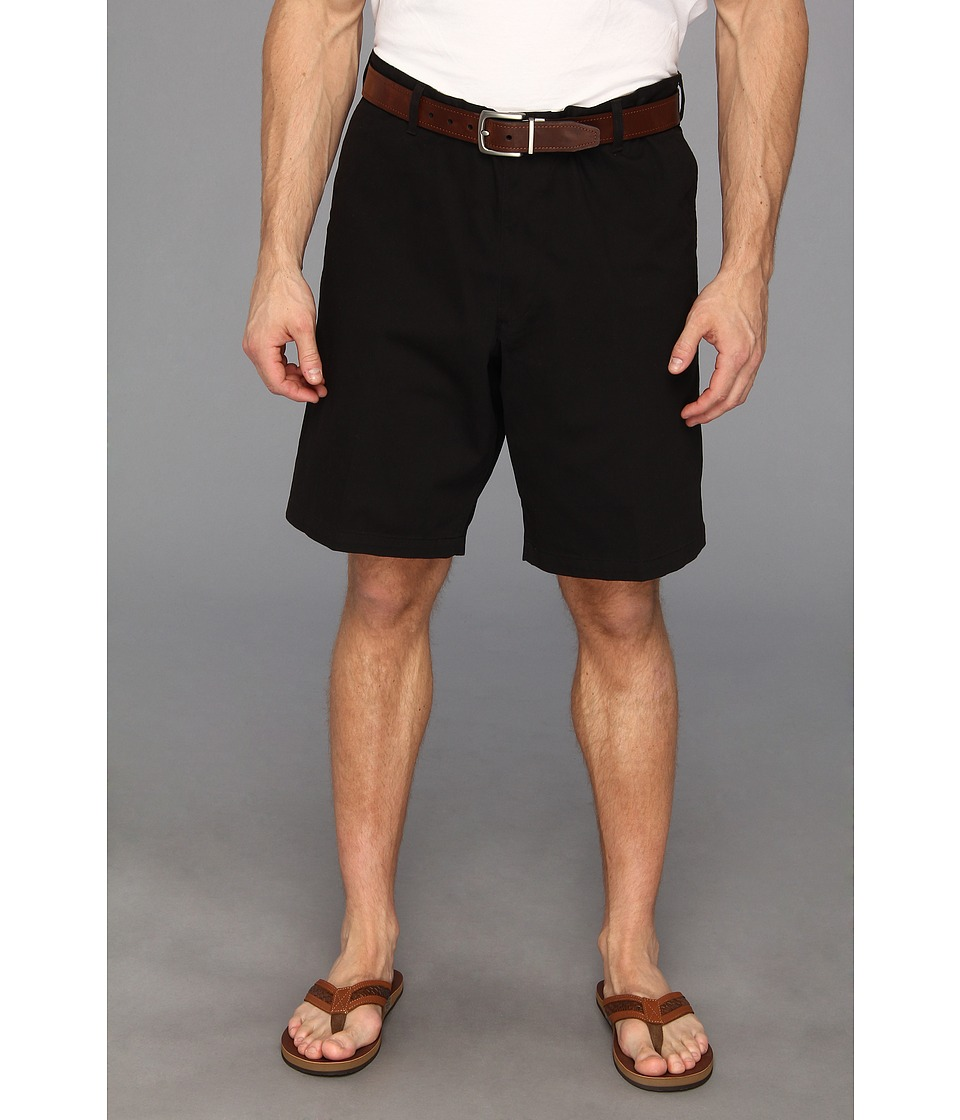 Dockers Big & Tall - Big Tall Core Flat Front Short (Black) Men's Shorts
