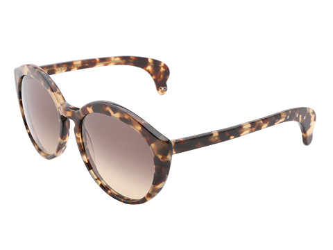 Bottega Veneta - 195/S (Havana Honey/Brown Gradient) Fashion Sunglasses