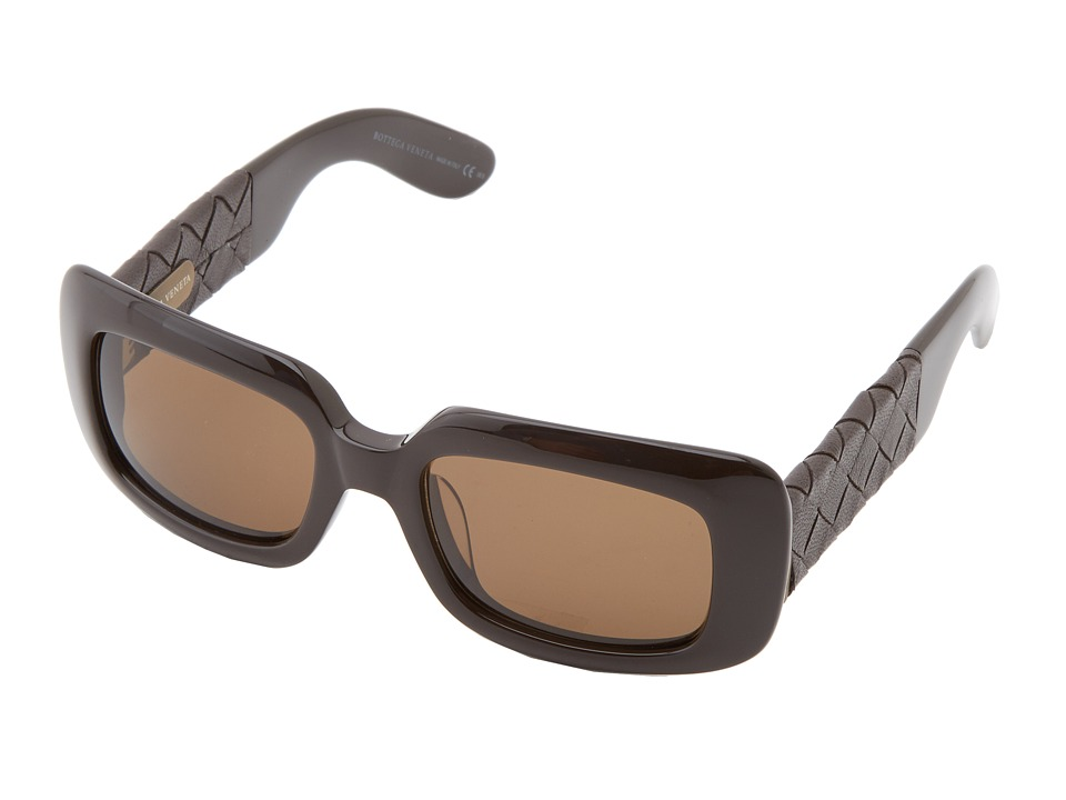 Bottega Veneta - 1000/S/S (Brown/Brown) Fashion Sunglasses