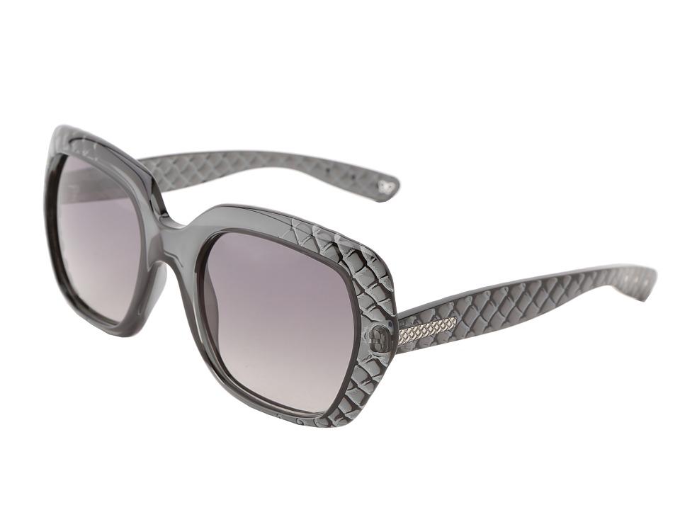 Bottega Veneta - 217/S (Grey/Grey Gradient) Fashion Sunglasses