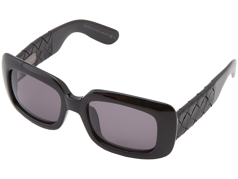 Bottega Veneta - 1000/S/S (Black/Grey) Fashion Sunglasses