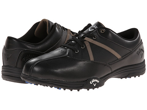Callaway - Chev Comfort (Black/Black) Men's Golf Shoes