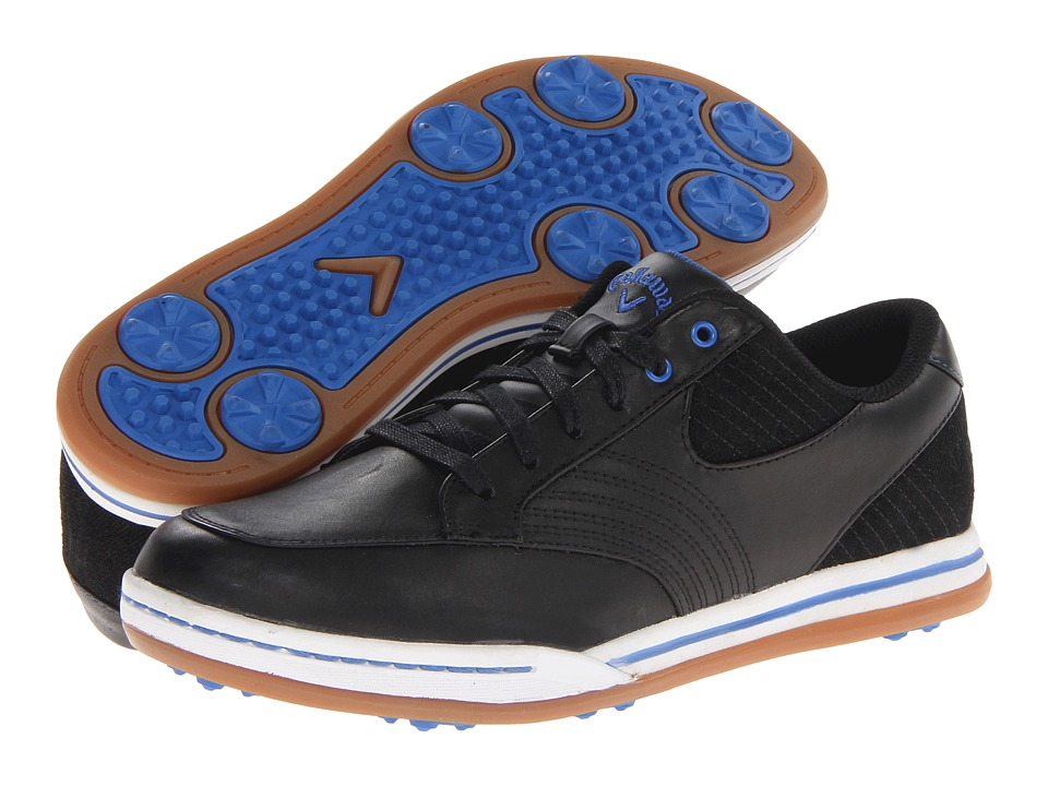 Callaway - Del Mar (Black/Black 2) Men's Golf Shoes