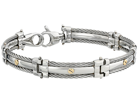 ALOR - Bracelet - Gentlemen's Collection 06-93-1005-00 (Stainless Steel) Bracelet