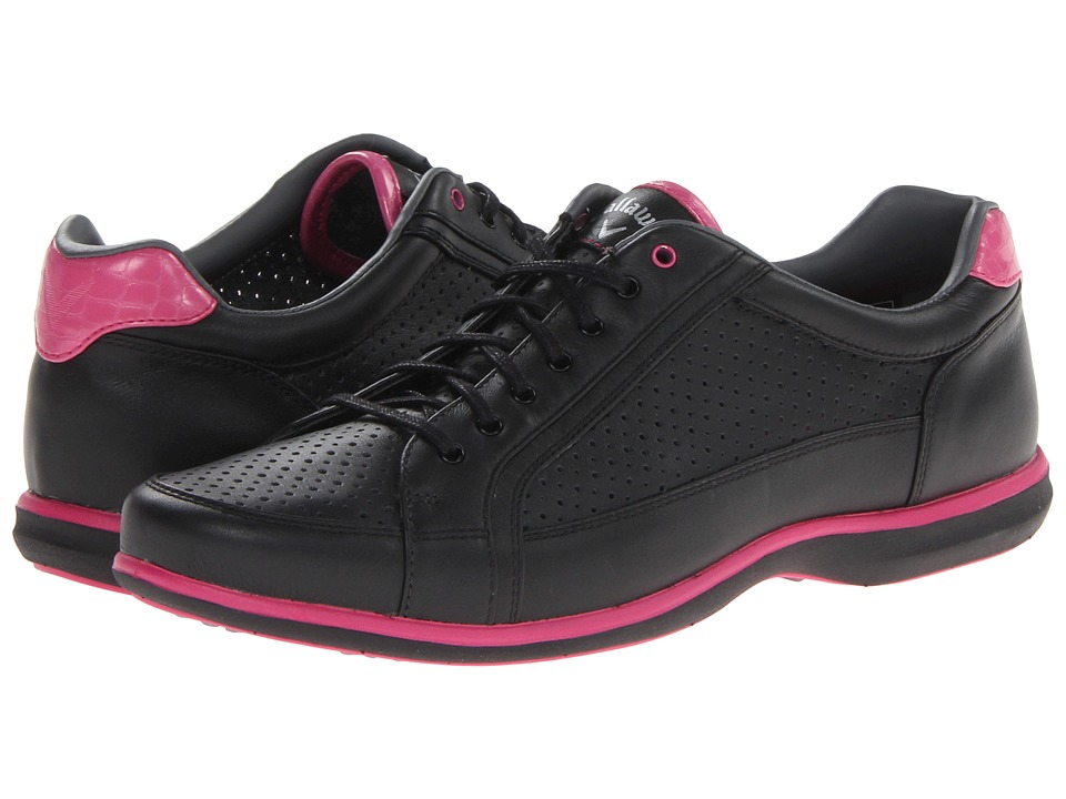 Callaway - St. Lucia (Black/Pink) Women's Golf Shoes