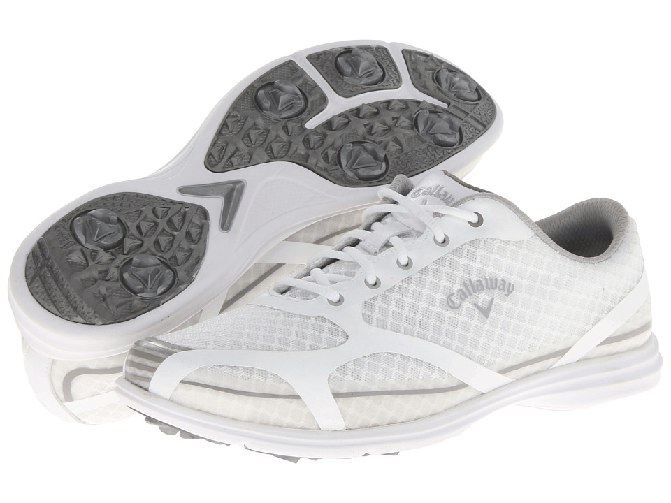 Callaway - Solaire (White/Silver) Women's Golf Shoes