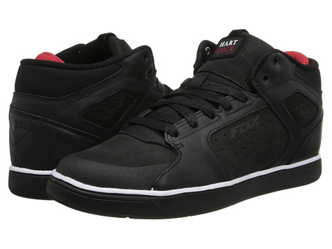 Fox - Motion Uprise (Black/White/Carey Hart) Men's Skate Shoes