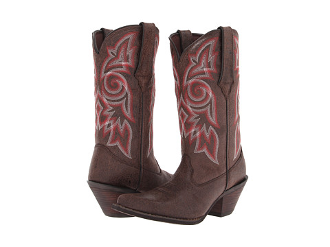 Durango - 12 Crackle Chrome (Crackled Brown) Cowboy Boots