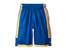 Nike Kids Triple Double Short (Little Kids/Big Kids) (Military Blue/Wolf Grey/Orange)