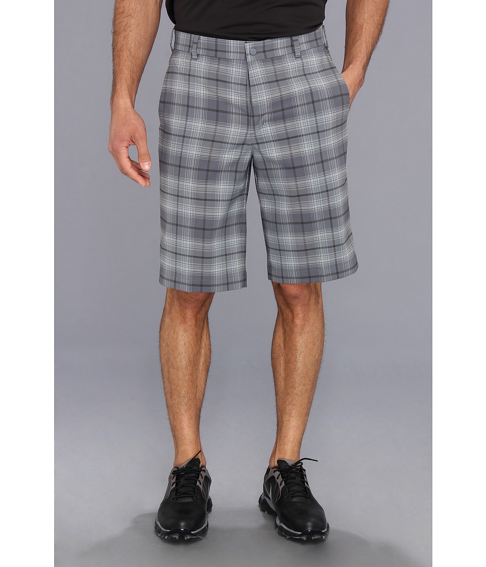Nike Golf - Nike Golf Tartan Short (Cool Grey/Medium Base Grey) Men