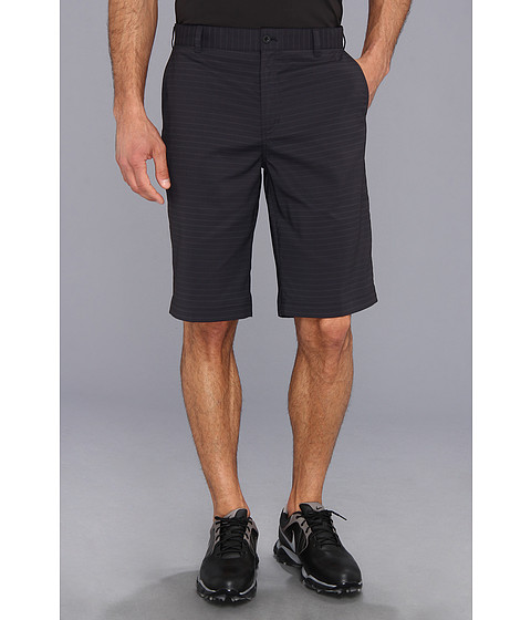 Nike Golf - Modern Tech Stripe Short (Black/Metallic Silver) Men's Shorts