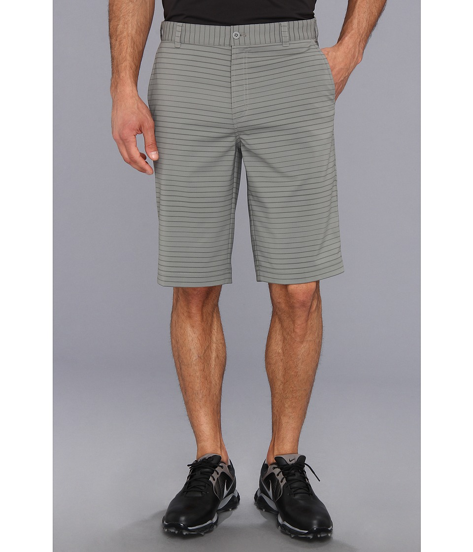 Nike Golf - Modern Tech Stripe Short (Medium Base Grey/Metallic Silver) Men's Shorts