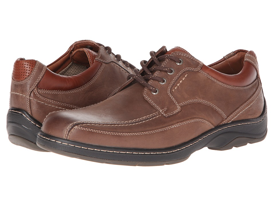 Johnston & Murphy - Fairfield Runoff Lace-Up (Taupe Waterproof Oiled Nubuck) Men's Shoes