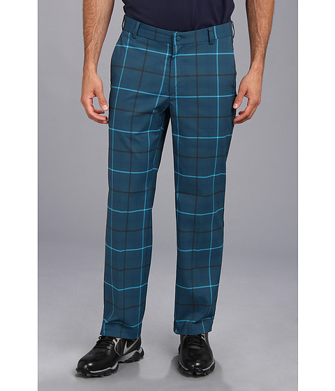 Nike Golf - Nike Golf Plaid Pant (Night Factor/Medium Base Grey) Men