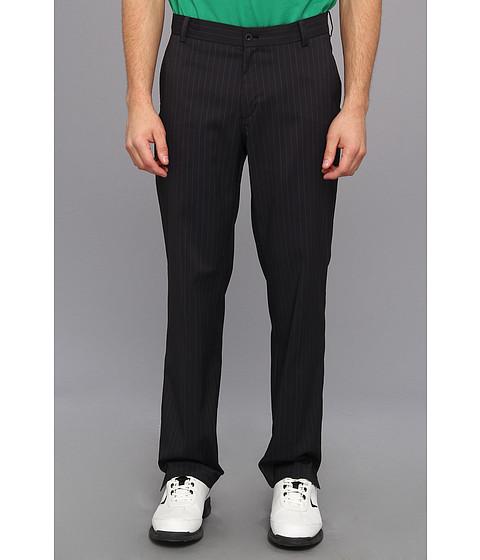 Nike Golf - Stripe Novelty Pant (Black/Metallic Silver) Men's Casual Pants