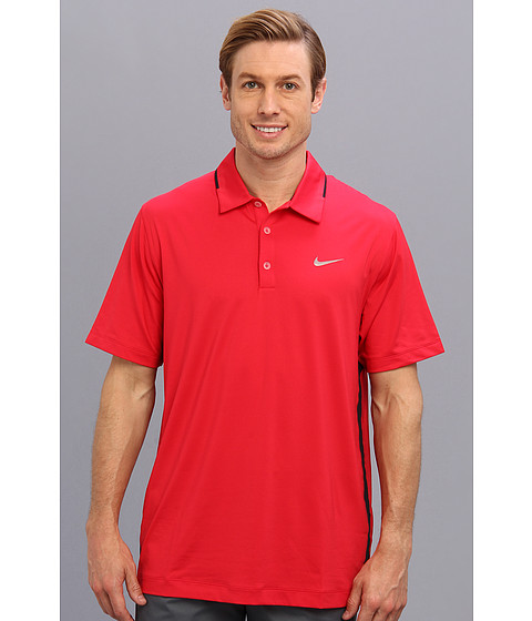 Nike Golf - Innovation Ventilated Polo (Legion Red/Black/Metallic Silver) Men