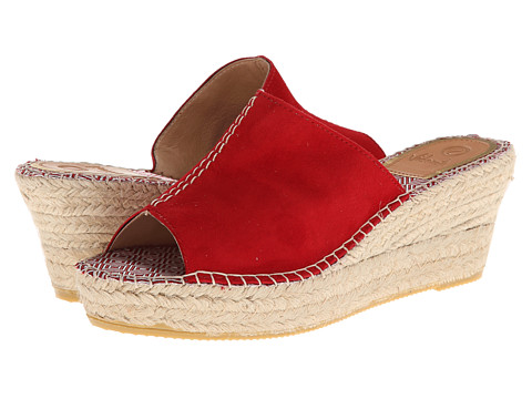 Vidorreta Jolie (Red) Women's Wedge Shoes