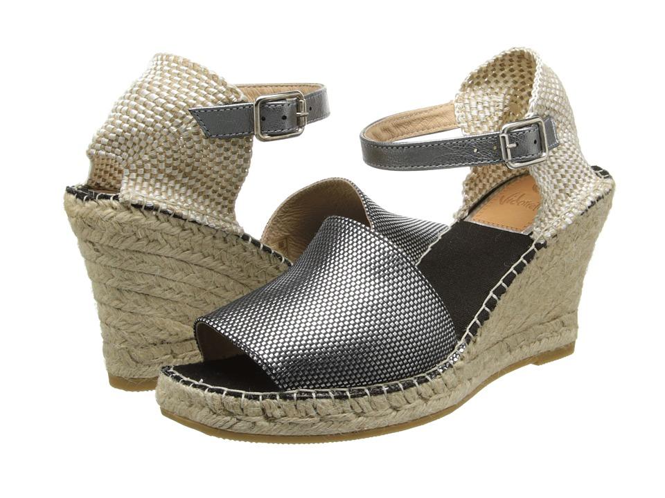 Vidorreta - Jagger (Silver) Women's Wedge Shoes