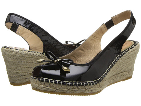 Vidorreta - Jillian (Black Patent) Women's Wedge Shoes