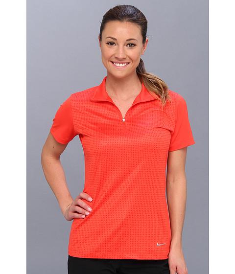 Nike Golf - Convert 1/2 Zip Top (Light Crimson/Light Arctic Pink/Metallic Silver) Women