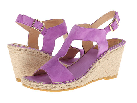 Vidorreta - Jose (Lila Suede) Women's Wedge Shoes