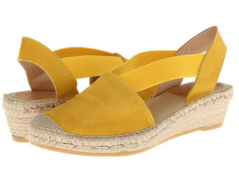 Vidorreta - Jade (Yellow) Women's Wedge Shoes