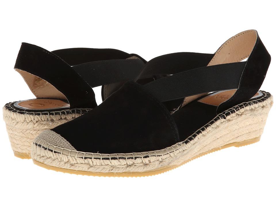 Vidorreta - Jade (Black) Women's Wedge Shoes