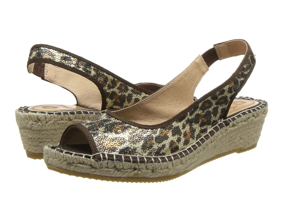Vidorreta - Jessy (Leopard) Women's Wedge Shoes